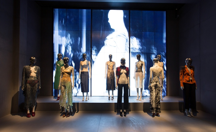 Alexander McQueen: Savage Beauty at the Victoria and Albert Museum in London