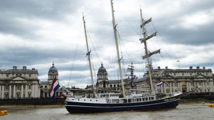 Tall Ships Festival 2017 at London Greenwich
